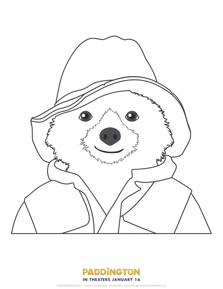 The 123 best beertje paddington images on Pinterest | Colouring ...
