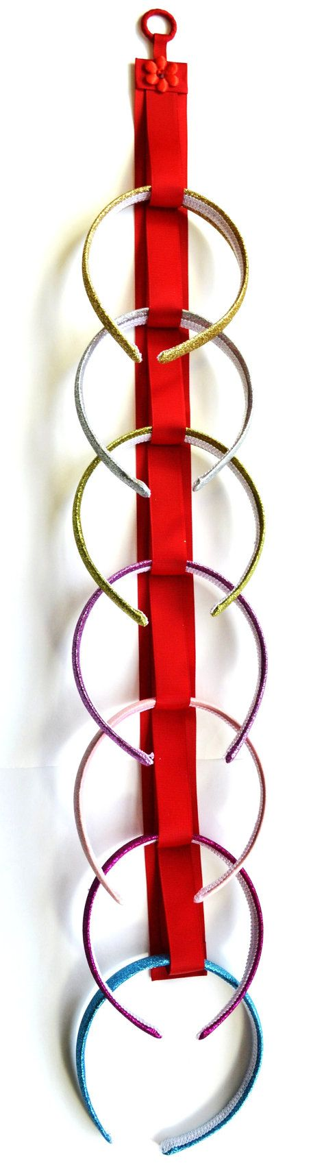 HEADBAND HOLDER Boutique Handmade Ribbon by FunnyGirlDesigns