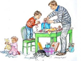Illustration by Shirley Hughes