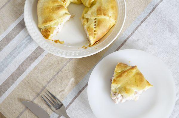 Ik hou van Pinterest, mijn pinbook met lekker eten komt steeds voller te staan. Het bied ook fantastische inspiratie om zelf iets te maken. Ik kwam een leuke croissant krans tegen, gevuld met kip. …