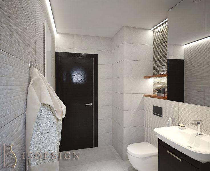 Ванная комната - дизайн проект интерьера четырехкомнатной квартиры в Праге. Архитектор-дизайнер Инна Войтенко.