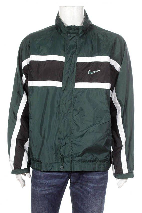 5cbff301fe34 Vintage 90s Nike Air Windbreaker Jacket Big Logo Spell Out Color ...