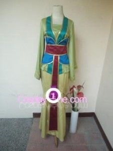 Mulan Cosplay Costume at http://Cosplay1.com
