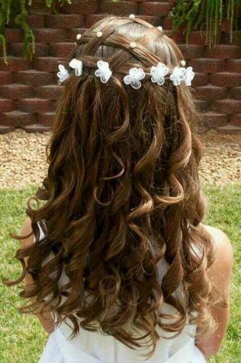 Peinado cabello rizado