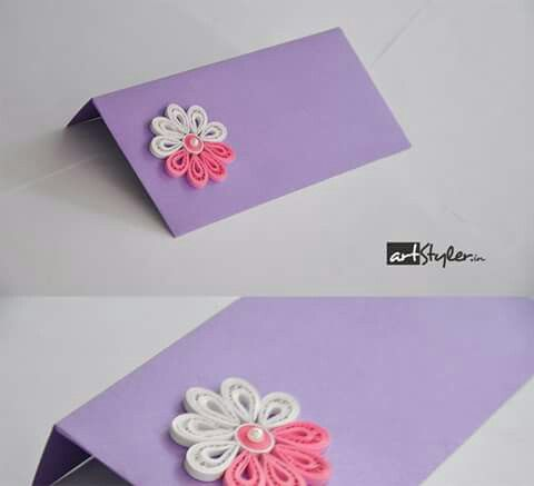 18 best Quilling Envelope images on Pinterest Casamento, Ethnic