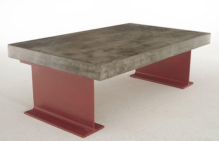 M s de 1000 ideas sobre muebles de concreto en pinterest for Mesa comedor hormigon
