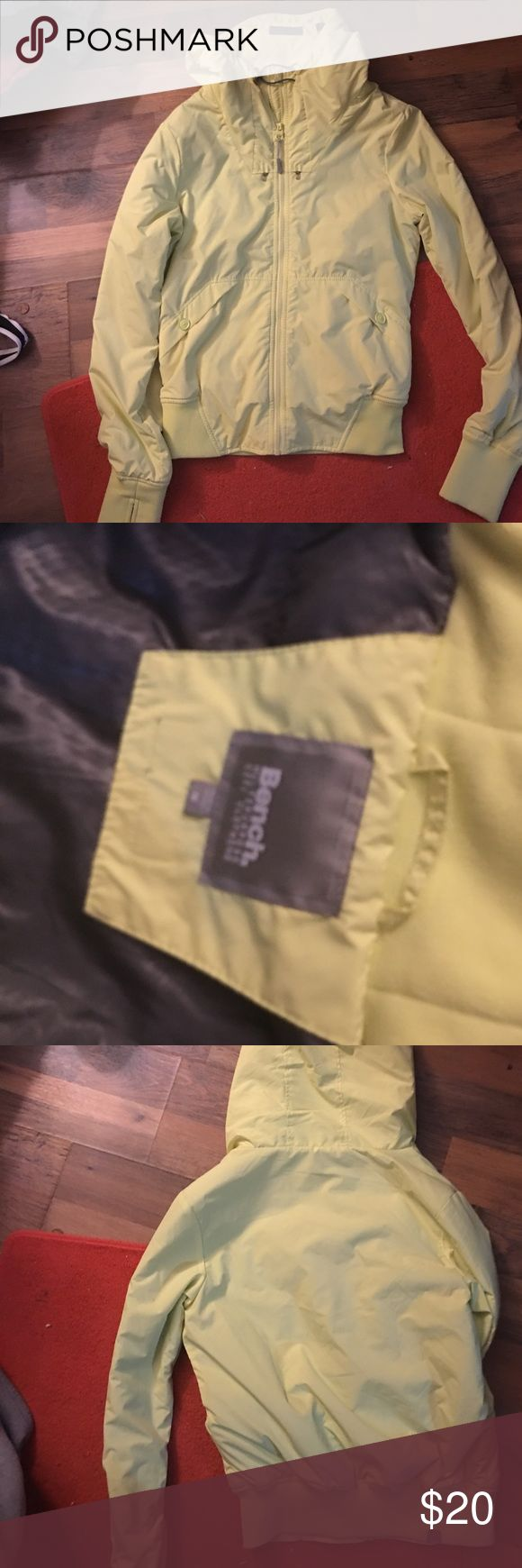 Bench jacket It is a yellow jacket and size medium. Never been worn Jackets & Coats