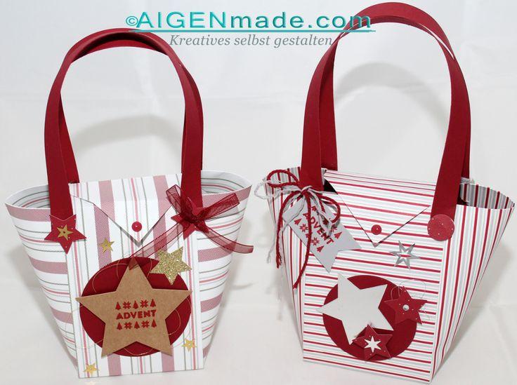 15 Minuten Weihnachten - Geschenkstaschen basteln mit Stampin'UP!
