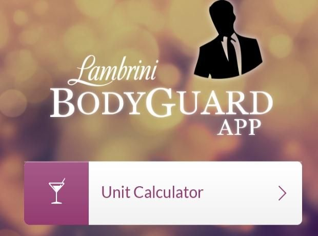 WINE KNOWLEDGE – Lambrini have launched an App to help consumers track their alcohol consumption, and help get home at the end of their night. The Bodyguard App keeps a track of what you are drinking with an easy to use Unit calculator and provides Train departures, Bus times and local Taxi information, based on your location. It will also notify your friends via text or Facebook when you are on your way home. A great app - just in time for the heavy, holiday drinking period.