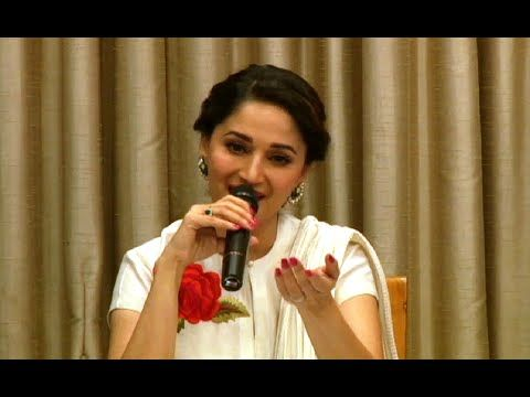 Madhuri Dixit with her FAVOURITE SHAYARI.