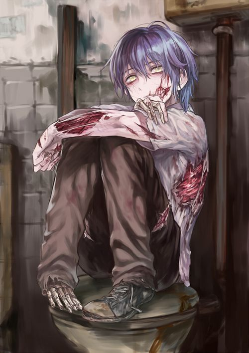 (( I'm the zombie)) ArE yOu goiNg To tUrN aWAy fRom Me nOw? It's OK. I uNdeRsTand. I'm an UgLy, RotTinG,  MOnsTer. Go aNd hidE. GeT AwaY frOm mE. I WouLdnt wAnT tO hUrt YoU.