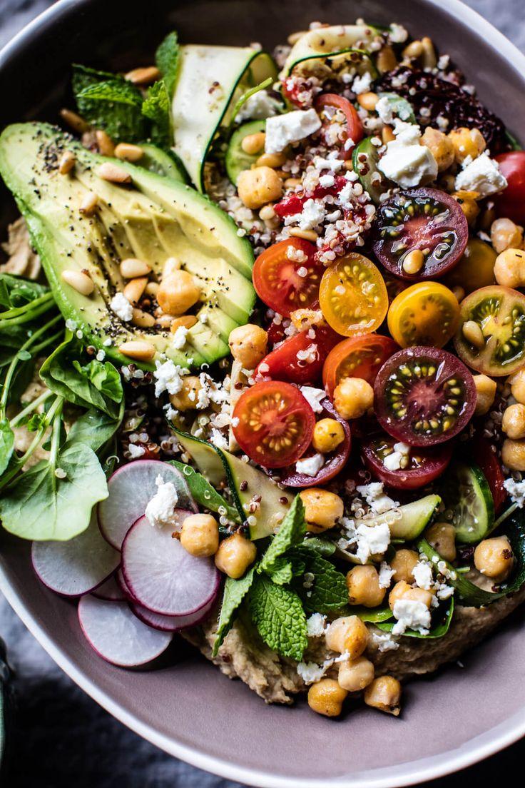 Loaded Greek Quinoa Salad   halfbakedharvest.com @hbharvest