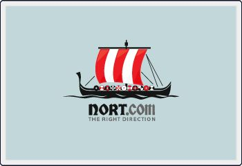 A northern ship logo/domain name package for sale