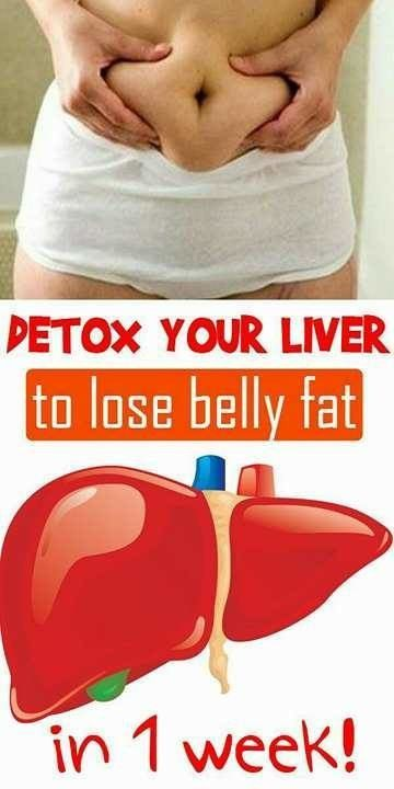 !!Detox Your Liver to Lose Visceral (Belly) Fat – Why it Works and How to Do It!!!
