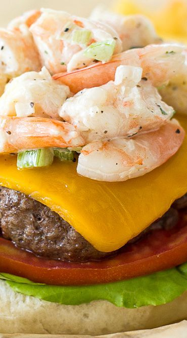 The Signature Beach House Surf 'n Turf Burger