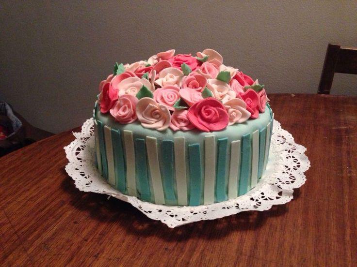 Torta día de la madre - Romina Isella