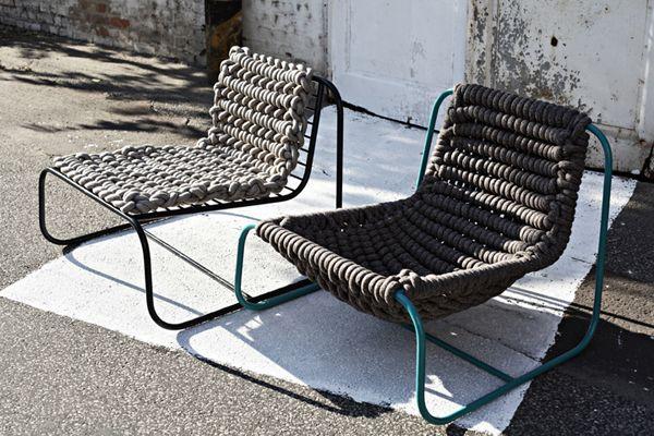 Mejores 8 imágenes de Deck chairs en Pinterest | Sillas de jardín ...