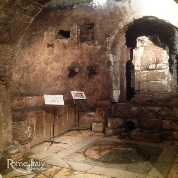 The Mithraeum of Circus Maximus Tour The Mithraeum is an underground sanctuary, hidden next to the famous Circus Maximus. Join our guide Stefano for a tailor-made visit, and discover the mysteries of Underground Rome!