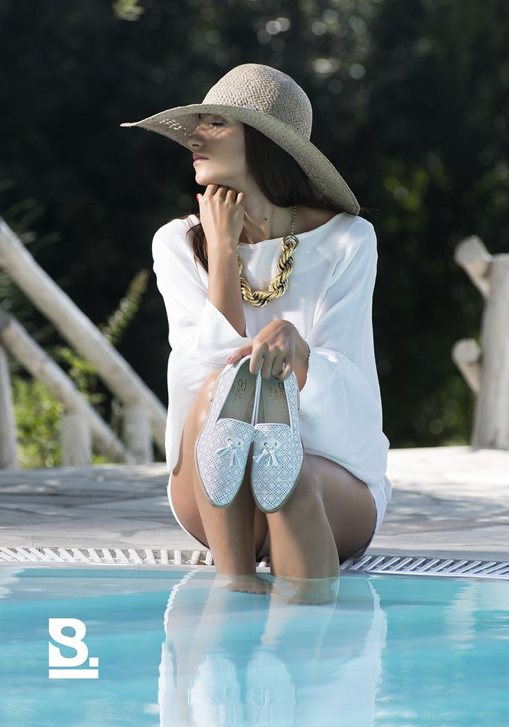 Shooting BVM Diego Bellini  spring summer 2015  photo Studio Buschi  #shoes #summer #pool #model #fashion #style #sun #ss15