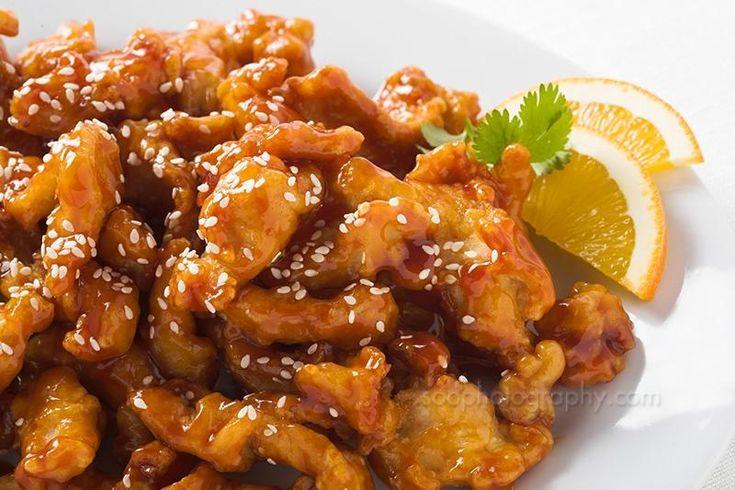 Orange Chicken   Oven Orange Chicken Recipe   Telugu Abhiruchulu