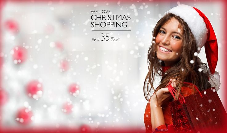 Christmas shopping up to 35% discount.