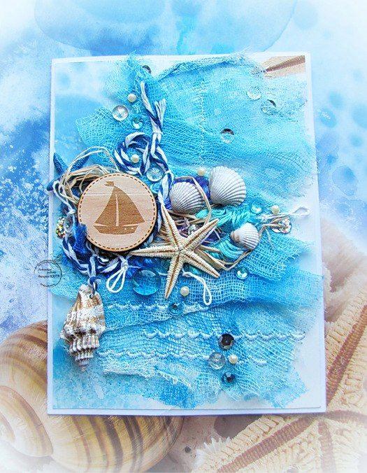 Открытки, картинки на морскую тему для открыток