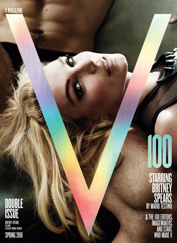 Britney Spears for V Magazine No.100 by Mario Testino