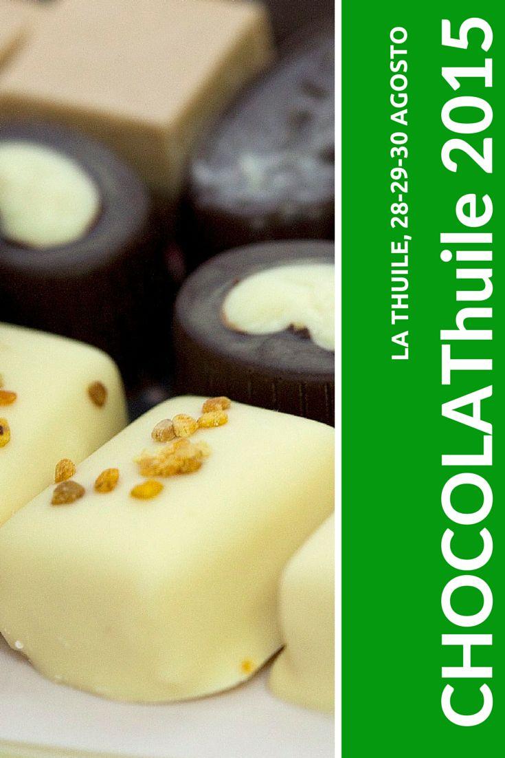A La Thuile, in Valle d'Aosta, dal 28 al 30 agosto la V edizione di CHOCOLAThuile. Oltre al momento espositivo, ai workshop e ai laboratori, nel corso della manifestazione sarà possibile assistere in diretta alla lavorazione e  alla produzione del cioccolato in tutte le sue fasi con corsi guidati di degustazione.