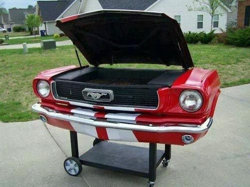 Classic 'Stang BBQ Grill