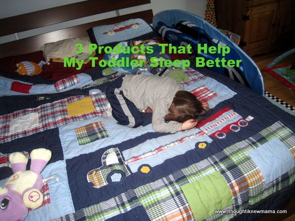 3 Products That Help My Toddler Sleep Better
