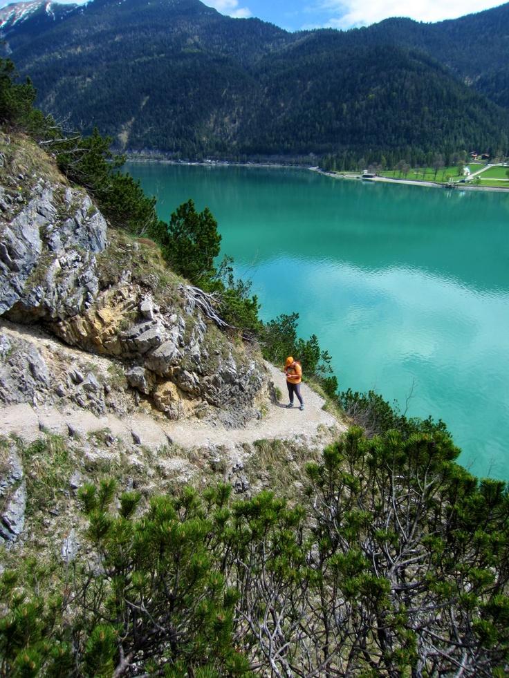 Joggingtour vom Hotel Das Kronthaler über den Gaisalmsteig nach Pertisau