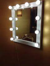 Зеркало для макияжа с подсветкой, гримерное зеркал отзывы.