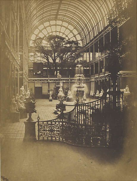 Interior of Crystal Palace, London, 1851