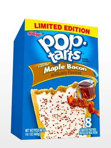 Pop Tarts Frosted de Bacon con Sirope de Arce | Edición Limitada Meh. Está bien pero no mata. (11/01/2017)