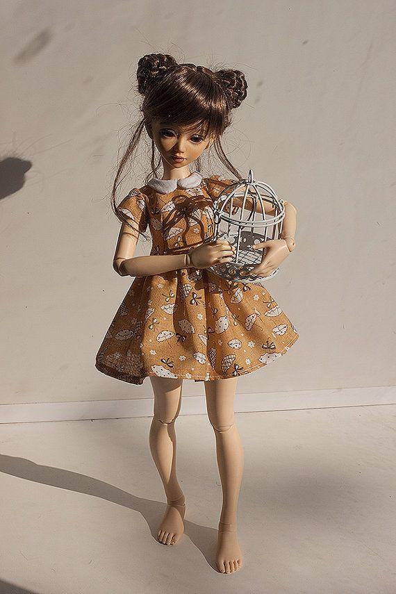 MSD BJD Clothes  Mini dress 3 Fairyland Minifee от Nulizeland #bjd #abjd #bjdclothes #bjdfashion #fairyland #minifee #fairylandmnf #unoa #unoalusis #msd #slimmsd #bjdsewing #dolls #nulizeland