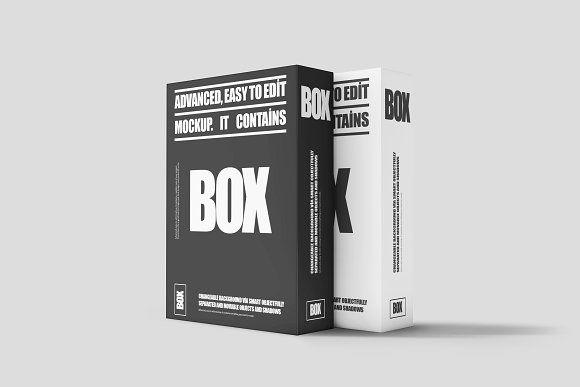 Download Software Box Mock Up 2 Mockup Mocking Mockup Design
