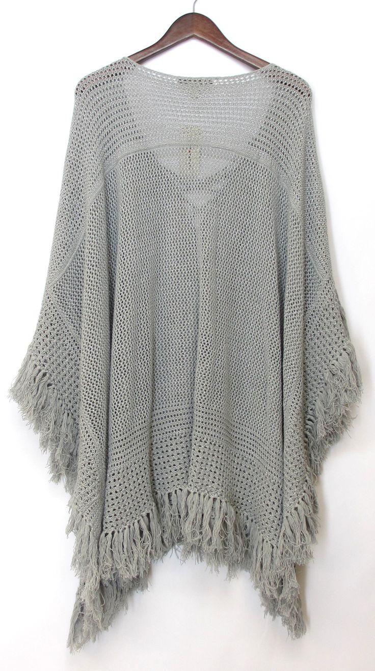 94 best Crochet ponchos, capes & wraps images on Pinterest | Crochet ...