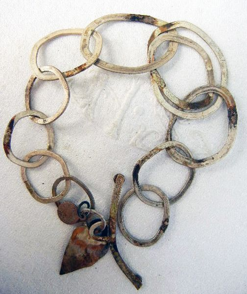 bracelet - sterling silver  by marina louw