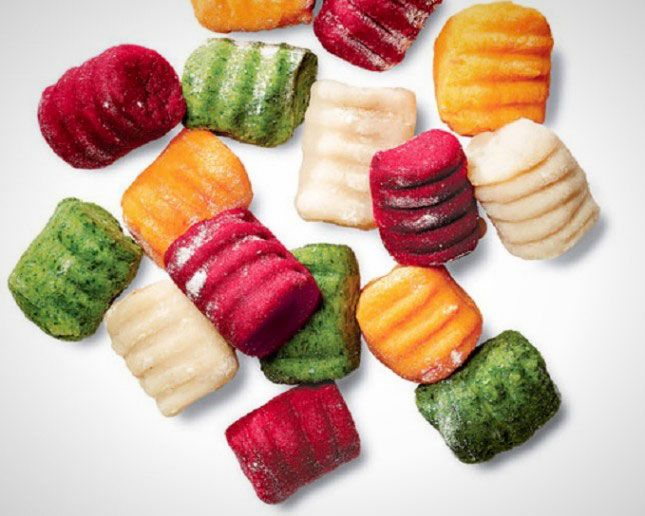 Make your own potato, spinach, beet and carrot gnocchi with these recipes.