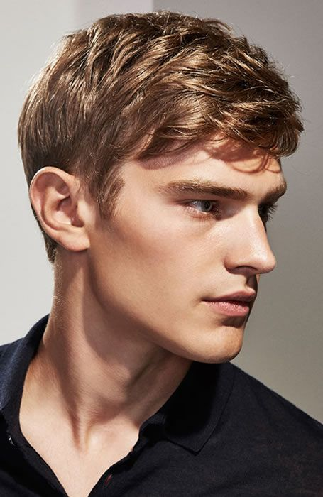 Men's Hairstyles Short hair. Photo: Massimo Dutti. #menshairstyles #menshair #shorthair
