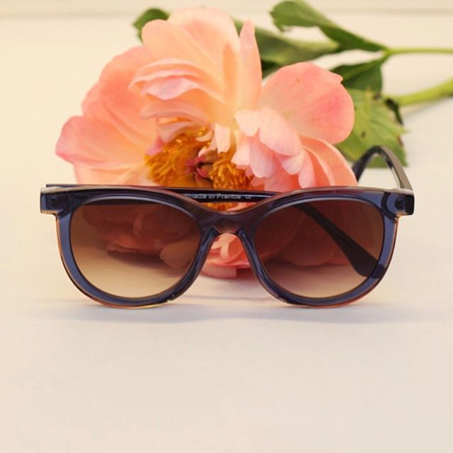 Fresh out the box! 🆕 🆒🕶 from @thierrylasry just arrived in our stores! Vacancy in blue acetate with faded lenses. #BågarOchGlas #ThierryLasry