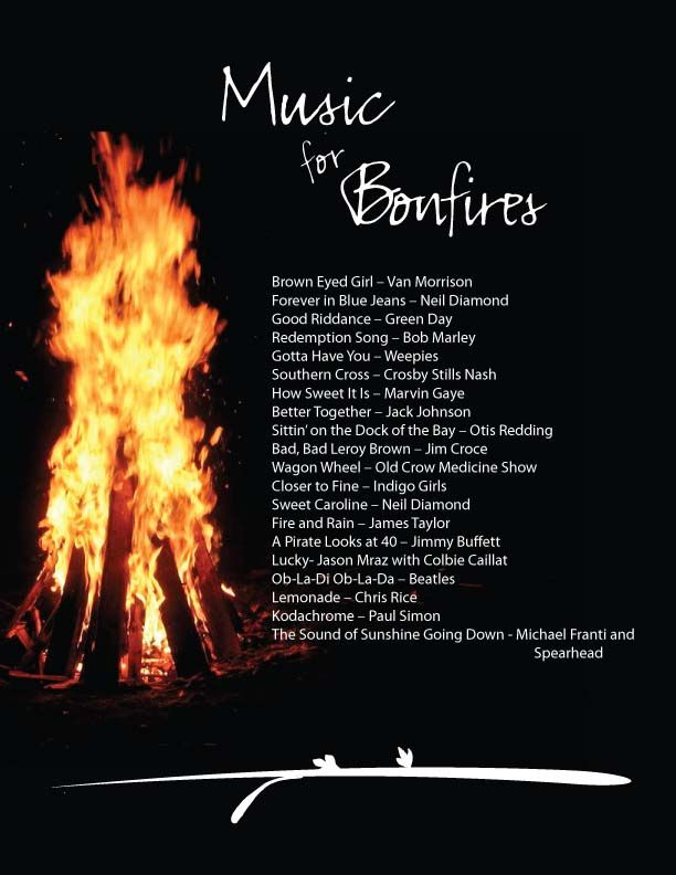 Songs of Summer: Music for Bonfires