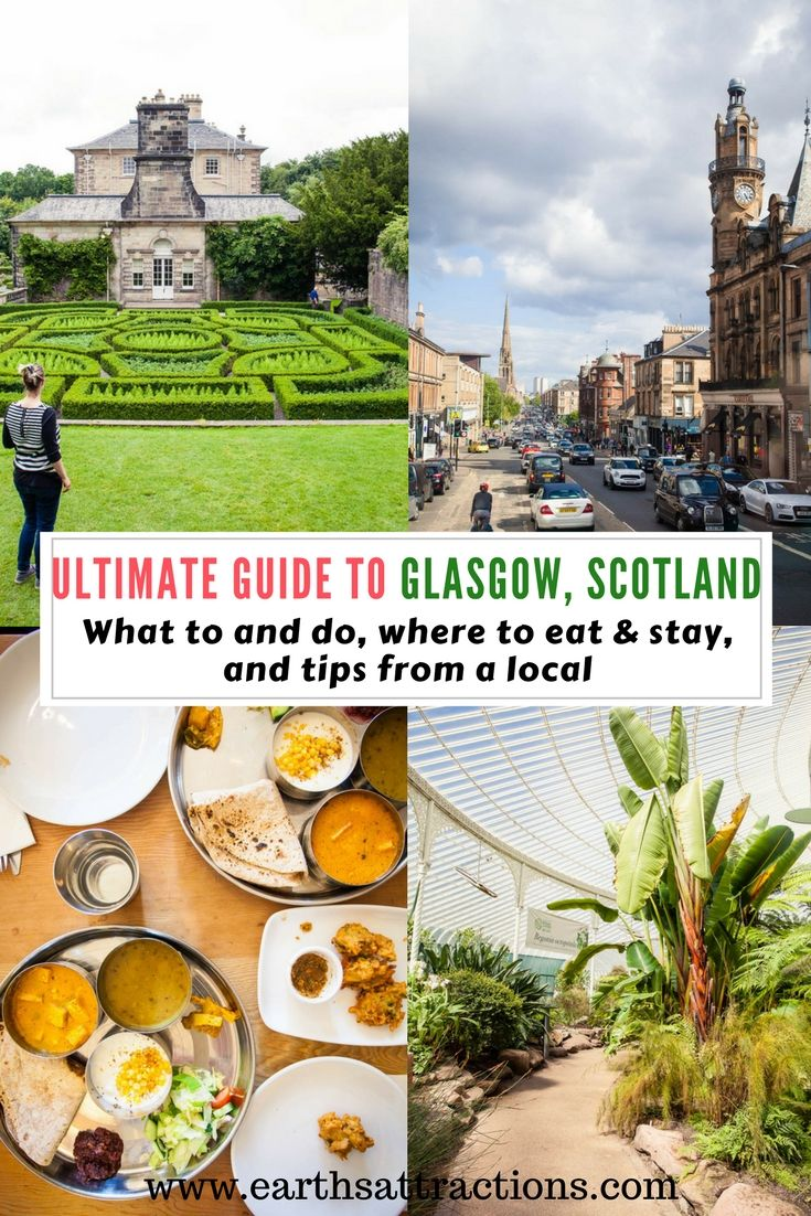 A local's guide to Glasgow, Scotland | #attractions in #Glasgow #Scotland #UK | hotels in Glasgow | food in Glasgow | Glasgow attractions | Glasgow travel guide | Glasgow tips | best places to visit in Glasgow | tourist places in Glasgow