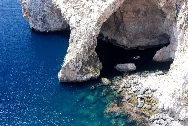 Blue Grotto, Malta island