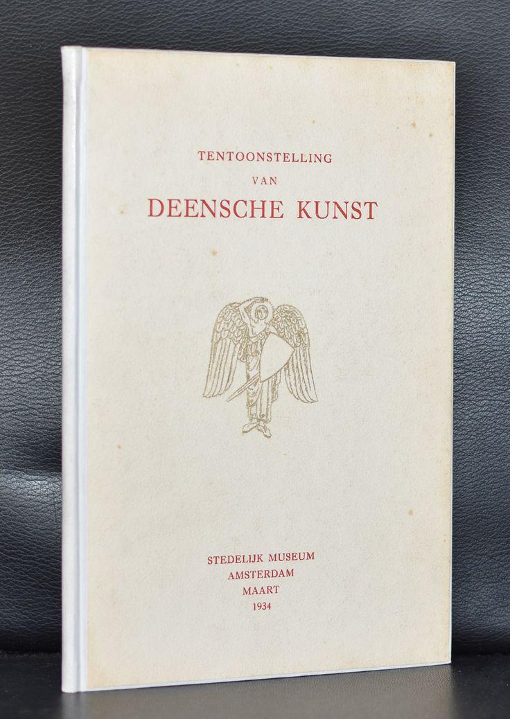 Stedelijk Museum # TENTOONSTELLING VAN DEENSCHE KUNST # 1934, mint-