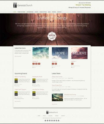 1000+ Images About Website Design Ideas: Churches On Pinterest