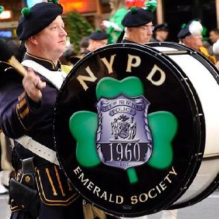 NYPD Emerald Society at St. Patrick's Day Parade | NYPD | Pinterest