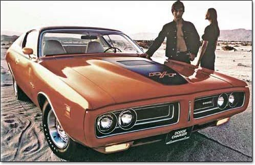 The legendary Dodge Charger.