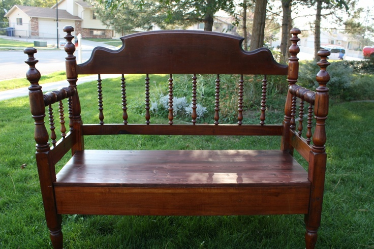 17 Best Images About Beds Into Benches On Pinterest Beds