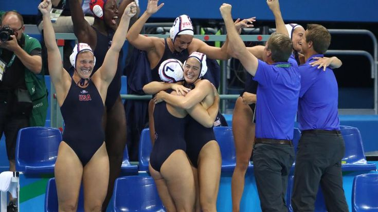 Olympics: Water Polo-Gold Medal Match-USA vs Italy. USA wins first back-to-back golds.